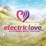 Das Logo des EDM Festival electric love in Salzburg.